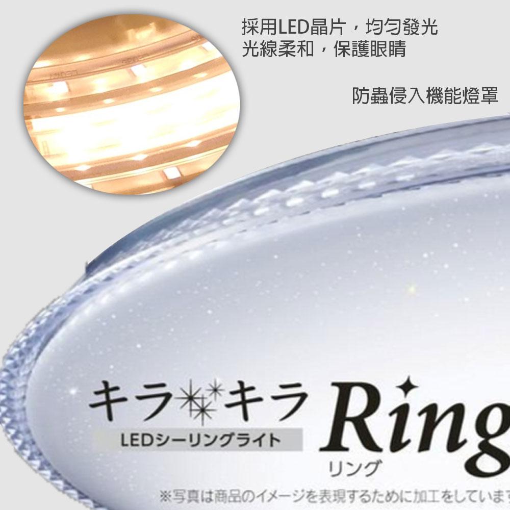 Toshiba東芝 / 免運 美肌系列 星光 77W 連續調光調色 LED遙控吸頂燈 高演色RGB吸頂燈 /  /  永光照明T77RGB12-S 4