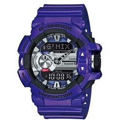 CASIO G-SHOCK/音樂隨我行運動錶/GBA-400-2ADR