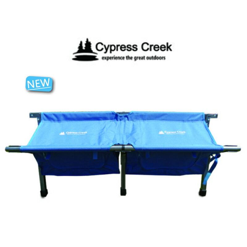 【露營趣】中和安坑 Cypress Creek 賽普勒斯 CC-LC200 鋁合金情人椅(附收納袋) 對對椅 雙人椅 行軍椅 摺疊椅 折疊椅