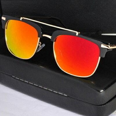 太陽眼鏡偏光墨鏡~帥氣俐落獨一無二男眼鏡 5色73en121~ ~~米蘭 ~