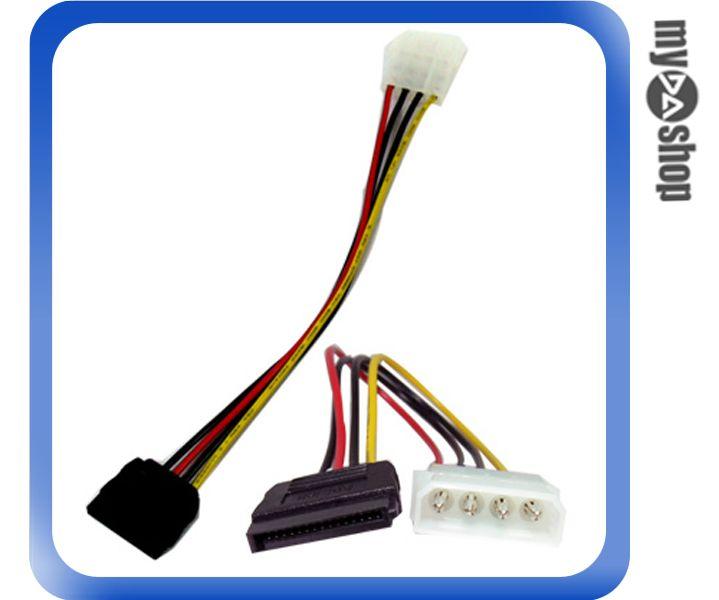 《DA量販店A》 全新 10 公分 SATA 電源線 硬碟 線材 (12-002)