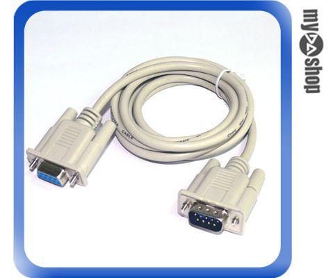 《DA量販店A》全新 RS232 COM 埠 DB9pin公-DB9pin母 1.5米 延長線 電腦線材 (12-135)