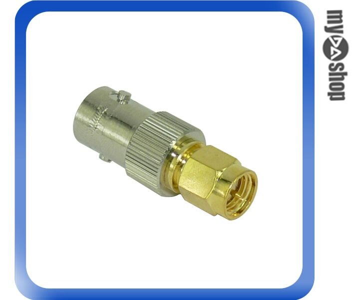 《DA量販店A》全新 射頻同軸 連接器 BNC 母 轉 SMA 公 BNC-SMA KJ (12-242)