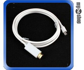 《DA量販店》全新 1.8米 mini DisplayPortmini DP 轉 HDMI 轉接線 傳輸線 (12-571)
