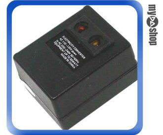 《DA量販店F》插座型 110V轉220V 變壓器 轉換 變壓 低電壓轉換高電壓的利器 (19-014)