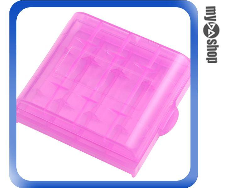 《DA量販店》全新 三號電池 塑膠電池 專用保護盒 電池盒 防靜電 防塵 可放4顆(19-179)