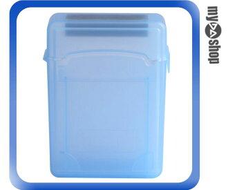《DA量販店》全新 水藍 防塵/防潮濕/防震/防靜電 2.5吋 硬碟 收納盒 保護盒(20-1545)