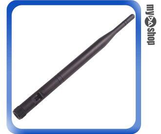 《DA量販店》全新 2.4G 5.5DBI 無線 高增益 天線 路由器 無線網卡 公頭母芯(20-1636)