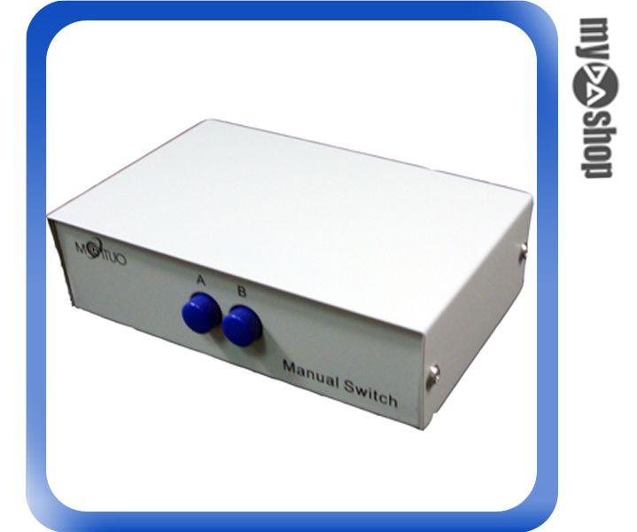 ~DA量販店A~ 手動式 SHARE SWITCH 2對1 線 共用 切換器 ^(20~3