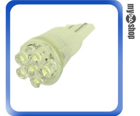 ~DA量販店H~超高亮度 T10 小炸彈 6 LED 白光 平頭 散光 2入 方向燈 霧燈