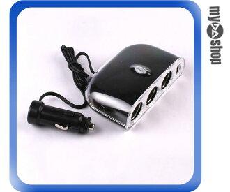 《汽機車用品兩件9折》全新 車用充電 一轉三 點煙擴充器 含USB插座 適合 USB 充電 (21-449)