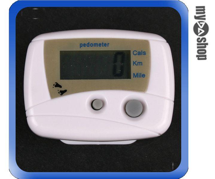 《DA量販店B》全新 液晶電子數字顯示計步器 公里/英里/消耗卡路里 顯示切換(22-120)