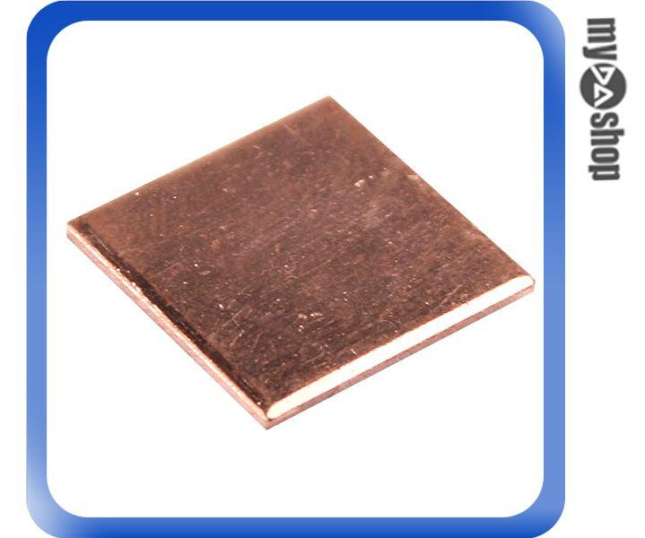 《DA量販店》新 電腦 PC 筆記型 電腦 顯卡 顯示卡 散熱 銅片 1.2cm 15 x 15 (23-246)