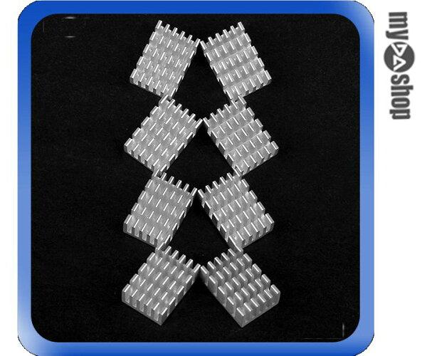《DA量販店》全新顆粒顯示卡專用記憶體RAM晶片散熱片散熱貼片週邊(23-331)