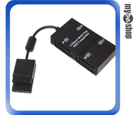 《DA量販店H》新 SONY PS2 專用 家用遊樂器 4PORT 擴充 分接器 手把/記憶卡 (28-117)