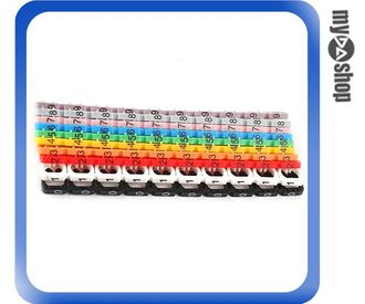 《DA量販店》電腦 PC 桌機 NB 筆電 線材標籤 設備 網路線 整線 工具 週邊 (34-1080)