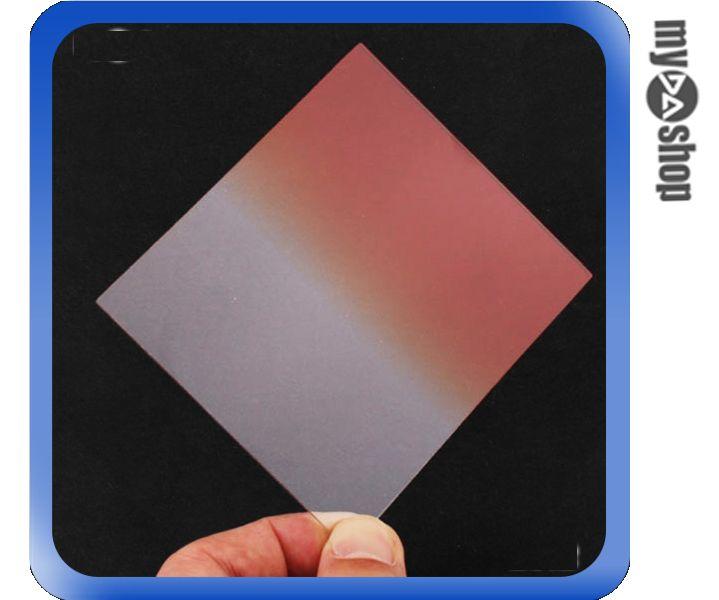 《DA量販店》全新 JYC 橙色 方形 漸層片 減光鏡 濾鏡 (36-1183)
