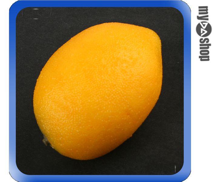 《DA量販店》全新 創意 仿真 檸檬 水果 造型 模型 櫥窗/店面/居家/攝影佈置 (59-1203)