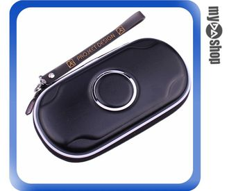 《DA量販店》PS Vita PSV 專用 鋼圈包 防撞包 防震包 硬殼包 收納包 黑色款(77-063)