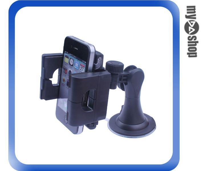 《汽機車用品兩件88折》汽車 車用 360度 手機架 汽車支架 車架 強力 吸盤 輕巧使用(78-0805)