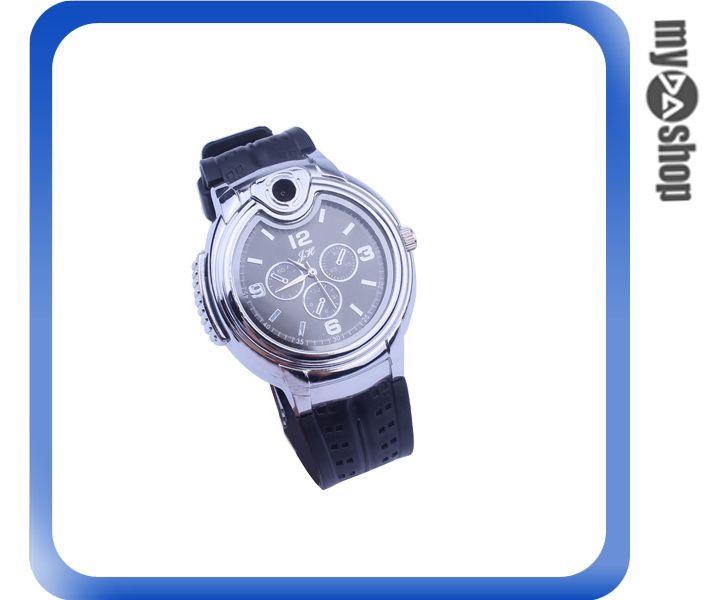 ~DA量販店~獨特 金屬 手錶  瓦斯 打火機 可重複 隨身 飾品^(78~0829^)