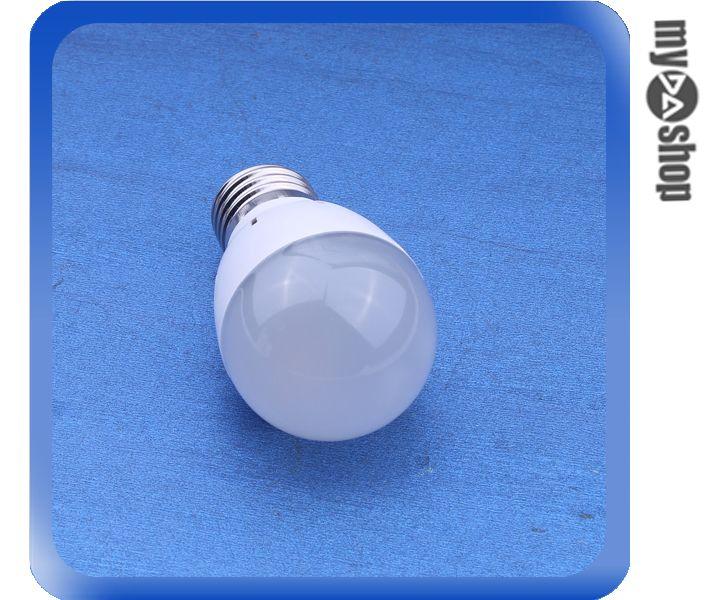 《DA量販店》E27 3W LED 正白 燈泡 LED燈 節能燈 省電燈泡 AC85-265V 適用(78-2884)
