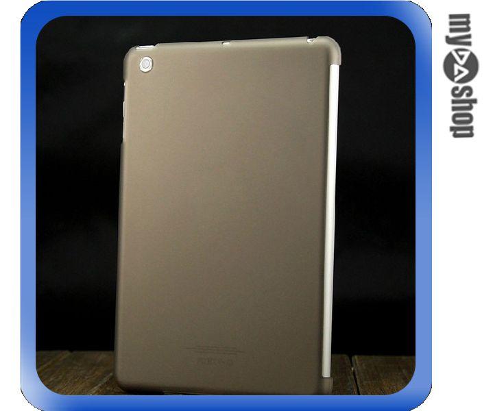 《DA量販店》ipad mini 透明 磨砂 背蓋 保護殼 保護套 黑色(78-4285)