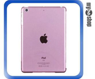 《DA量販店》ipad mini 透明 背蓋 保護殼 保護套 粉紅色(78-4297)