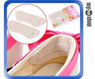 《DA量販店》一組2入 保護後腳跟 不織布 後腳跟貼 防磨貼 鞋貼 (79-0305)