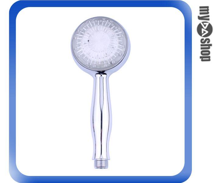《DA量販店》衛浴用品 溫控 LED 變色 蓮蓬頭 沐浴把手 小花灑(79-0670)