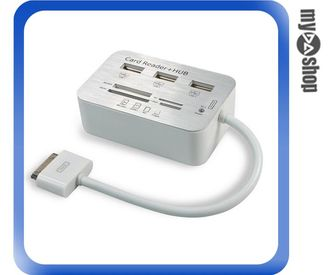 《DA量販店》Apple ipad3 ipad2 new ipad ipad4 讀卡機 讀卡器 支援SD TF卡(79-1616)
