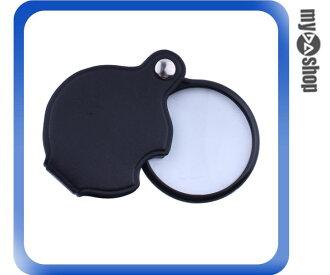 《DA量販店》簡易型 萬用 家庭 皮包 輕便 好攜帶 放大鏡 5.5mm 焦距10cm(79-2085)