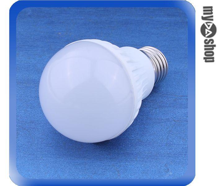 ~DA量販店~E27 5W LED 白光 燈泡 LED燈 感應燈 省電燈泡 AC85~26