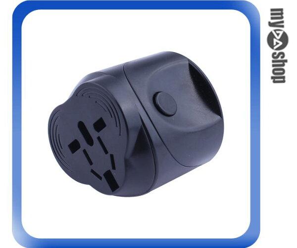 DA量販店:《DA量販店》旅行旅遊多功能萬用通用轉接插頭黑色(79-2993)