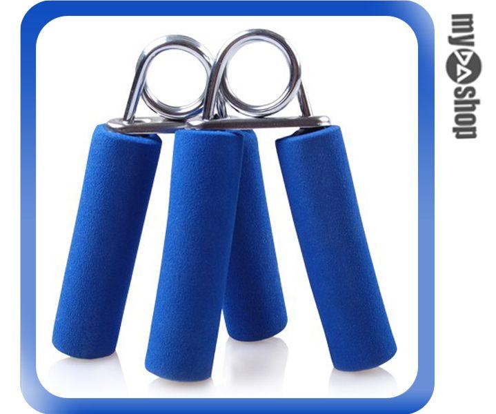 《運動用品任選兩件9折》運動 健身 健康 海綿 手指 握力器 臂力器 復健 鍛鍊肌力 2入 顏色隨機(79-3111)