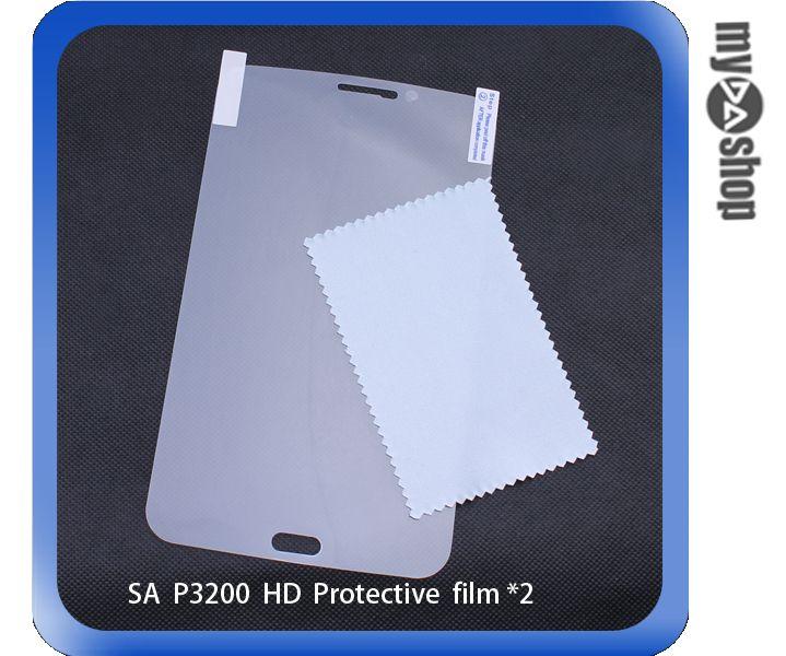 《DA量販店》三星 Samsung Galaxy Tab3 P3200 亮面 螢幕 保護貼 一組兩入(79-3200)