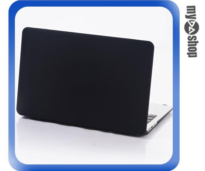 《DA量販店》MACBOOK AIR 13.3吋 磨砂 保護殼 外殼 黑(79-7042)