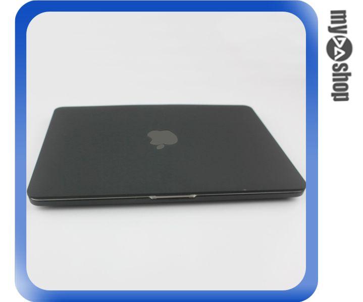 《DA量販店》MACBOOK PRO RETINA 13.3吋 磨砂 保護殼 黑 適用 無光碟機版(79-7078)