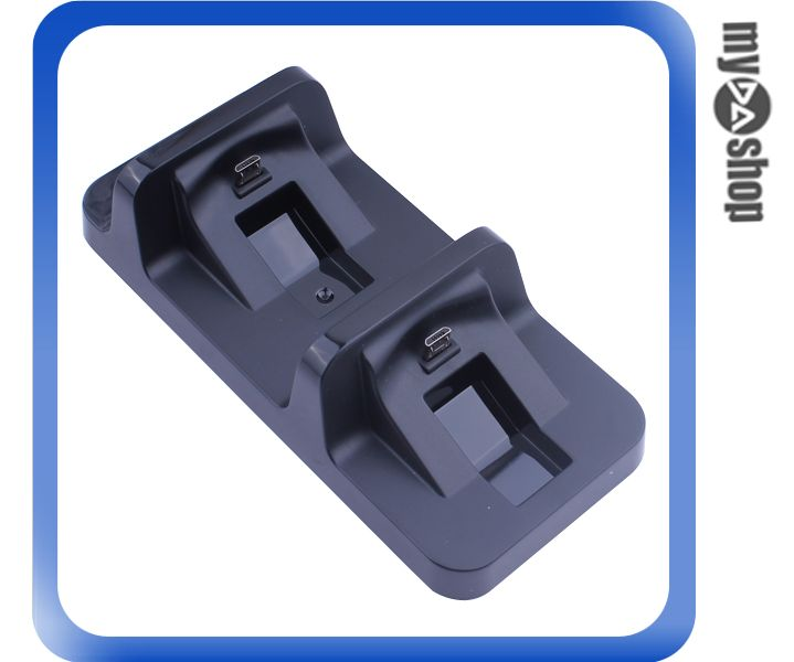 《DA量販店》PS4 專用 雙手把 充電收納座 充電座 固定座 一次可充兩隻手把(80-0815)