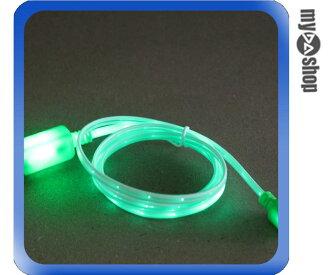 《DA量販店》iPhone5 5C 5S USB LED 發光 數據線 傳輸線 充電線 綠色(80-1011)