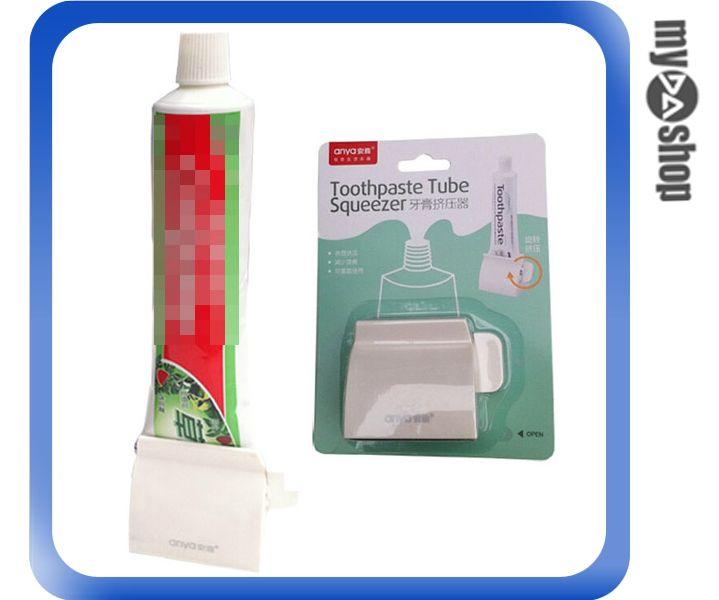 《DA量販店》創意 生活 牙膏 擠牙膏器 牙膏器 牙膏擠壓器 顏色隨機(80-1045)