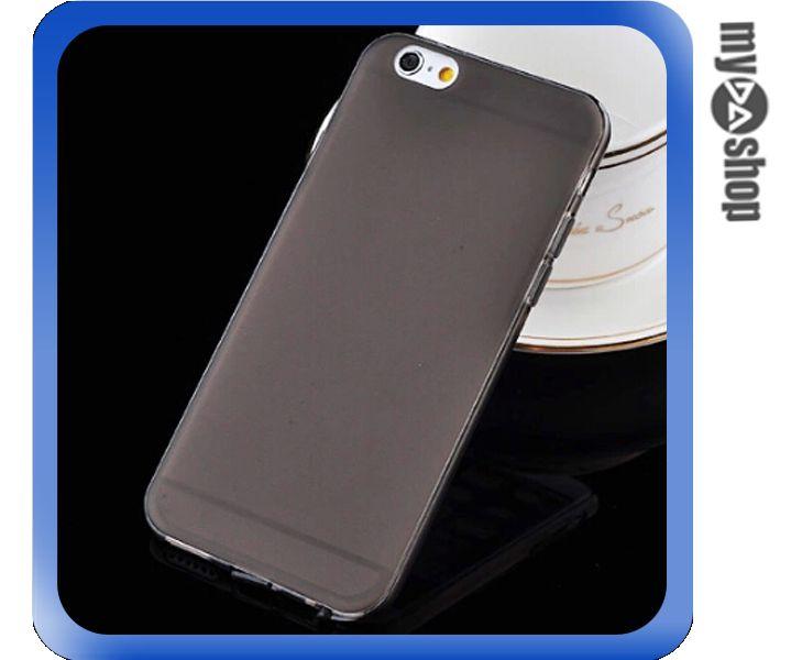 《DA量販店》APPLE 蘋果 iphone6 4.7吋 超薄 TPU 手機殼 具防塵塞 黑色(80-1250)