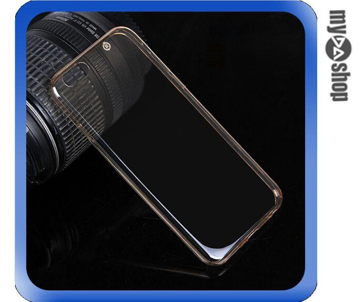 《DA量販店》APPLE 蘋果 iphone6 4.7吋 超薄 TPU 手機殼 具防塵塞 金色(80-1251)