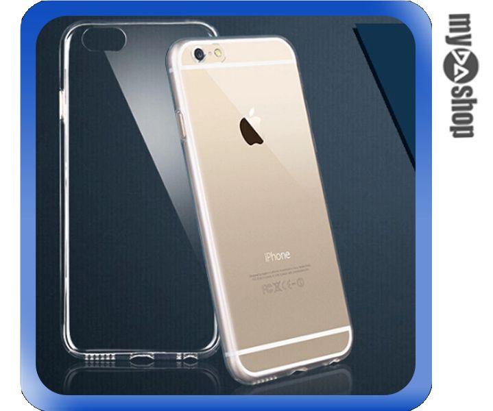 《DA量販店》APPLE 蘋果 iphone6 plus 5.5吋 超薄 TPU 手機殼 透明(80-1285)