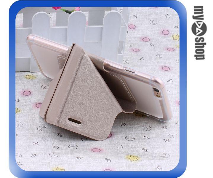 《DA量販店》變形金剛 蘋果 iphone6 軟殼 翻蓋 皮套 手機套 支架 金色(80-1433)