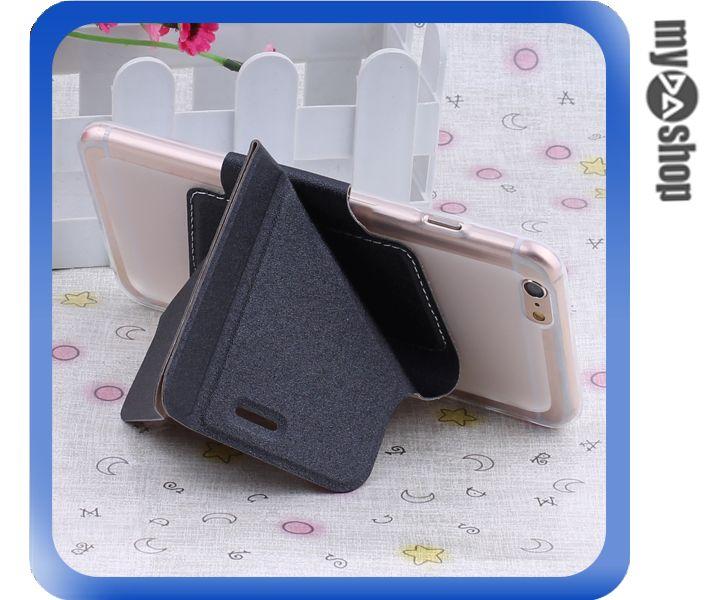 《DA量販店》變形金剛 蘋果 iphone6 軟殼 翻蓋 皮套 手機套 支架 黑色(80-1434)