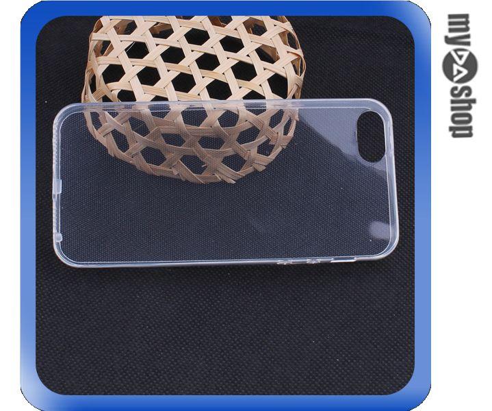 《DA量販店》蘋果 iphone5S 清水套 保護套 透明 軟殼 TPU 手機套(80-1495)