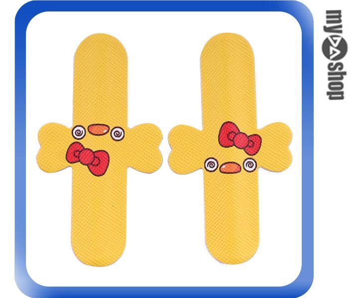 《DA量販店》彩繪 魔力貼 U型 手機 支架 2入 黃色 小雞(80-1529)