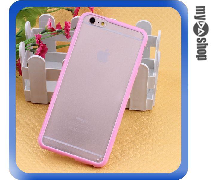 ~DA量販店~蘋果 iphone6 plus 5.5吋 糖果色 PC TPU 磨砂 手機殼
