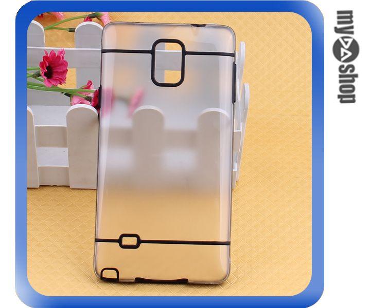 《DA量販店》Samsung note4 PC 磨砂 霧面 硬殼 手機殼 黑色(80-1602)